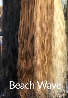 Beach Wave Hair Extensions