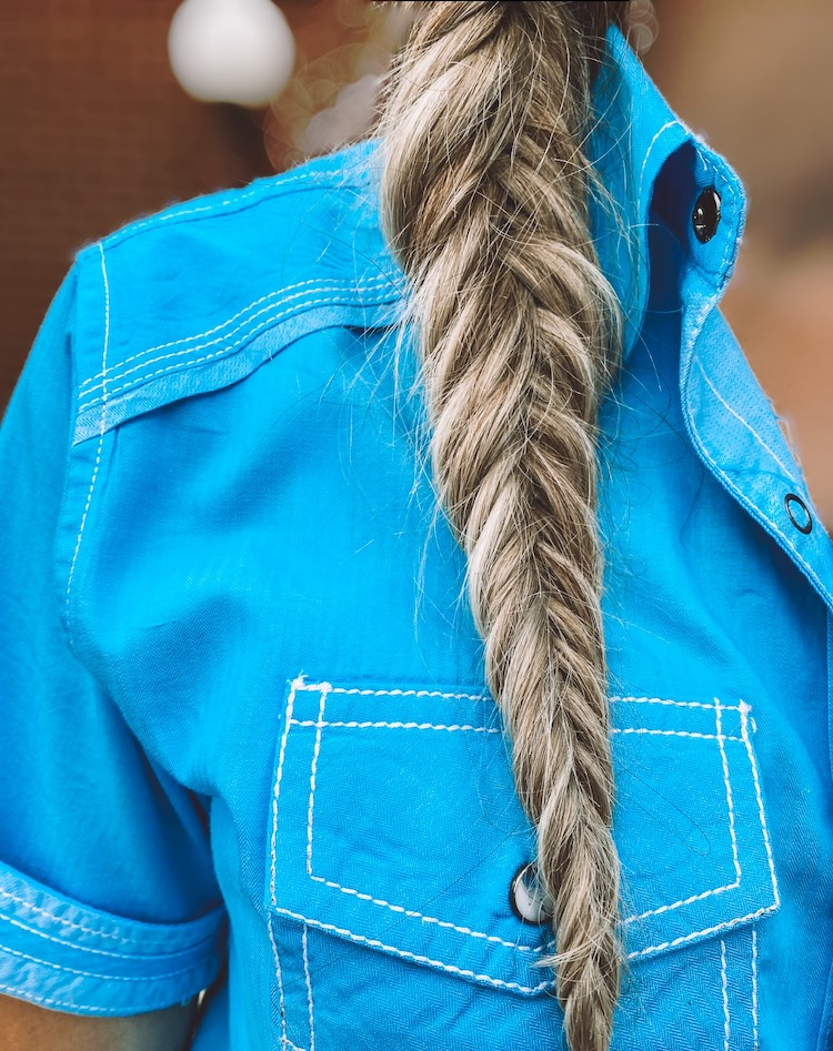 hair extensions pony tail