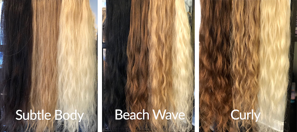 Subtle Body - Beach Wave - Curly